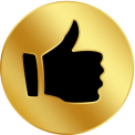 gold thumbsup